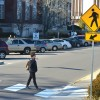 SAFE CROSSING: Crosswalks, new signs appear on 15th Street near campus