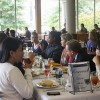 Davies, student lunch offers insight