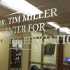 New student accounting center dedicated to Miller