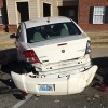 Drunken driver hits four cars in complex