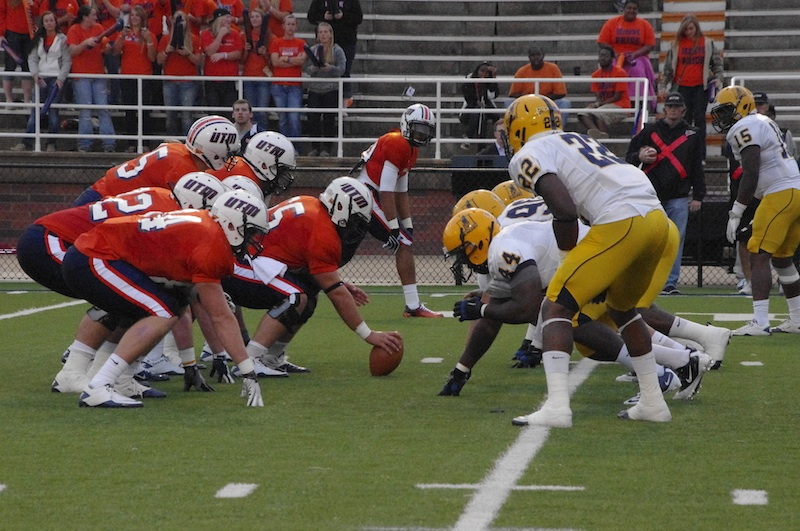 The UT-Martin offense was too much to handle for the Racers highly praised defense.