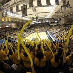 The Stampede packs the CFSB Center during a basketball game against Southeastern Missouri University. ||File Photo