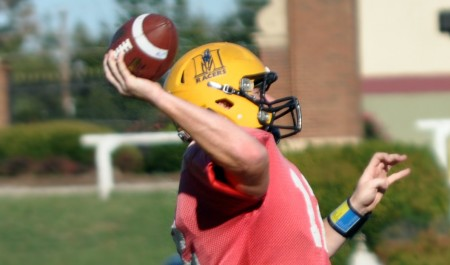 "Hometown quarterback Casey Brockman is playing his final season in a Murray State uniform. The Calloway County High School graduate threw for 3,276 yards last season, the second highest total in OVC history. The self proclaimed 'Wild Horse"" ranks 7th on the OVC all time list for completions at 577. With seven games remaining, Brockman is set to continue rewriting the OVC record books.  