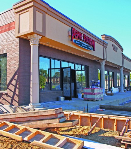 Construction for a new Penn Station in Murray is just one of several projects underway this year. || Brian Barrow/The News
