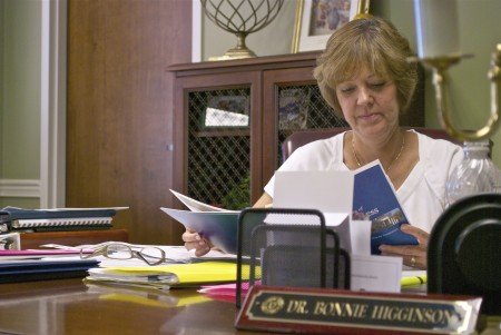 Bonnie Higginson has announced her resignation after three years as Murray State's provost and vice president of Academic Affairs. || File photo