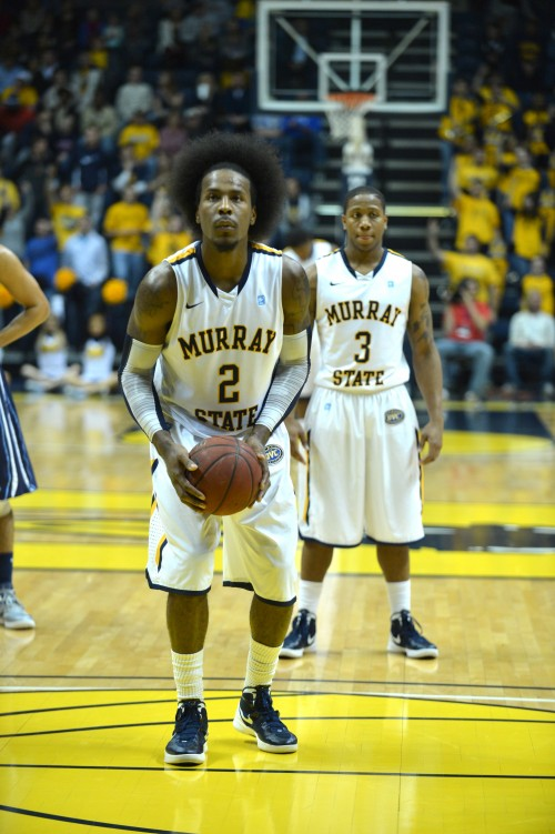 Seniors Ed Daniel and Isaiah Canaan have led the Racers to a 5-1 start. Daniel scored 20 points and a career high 18 rebounds against Lipscomb. || Samuel T. Hays/The News