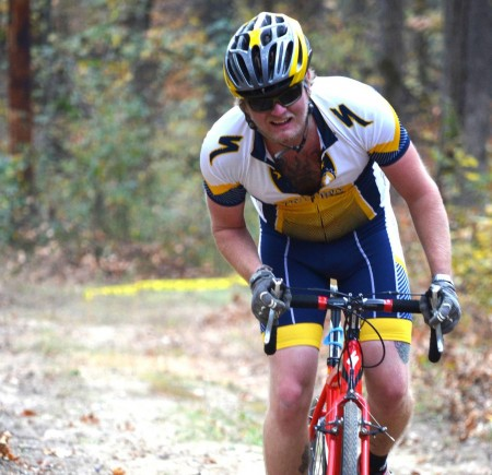 The Murray State cycling club's Michael Agnew placed second in Men's Taxi competition at regionals.    Photo courtesy of John Walker