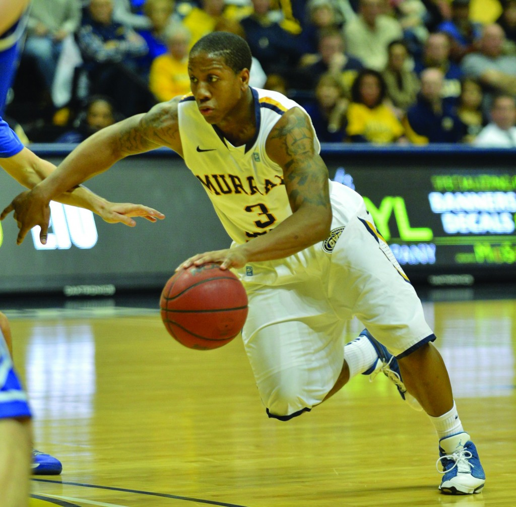 Senior Isaiah Canaan sunk his 252nd 3-pointer of his Murray State career in the Jan. 5 game against Southeast Missouri. The previous record was 251 set by Frank Allen.