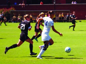 Spring soccer will begin March second. The Racers will host the Murray State Indoor Tournament in Mayfield at the Expo Indoor. || Kirsten Allen/theNews