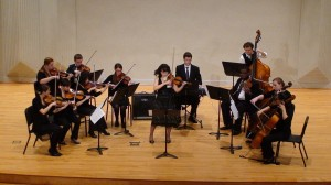 """The Murray State string orchestra performs """"The Four Seasons"""" by Antonio Vivaldi. 