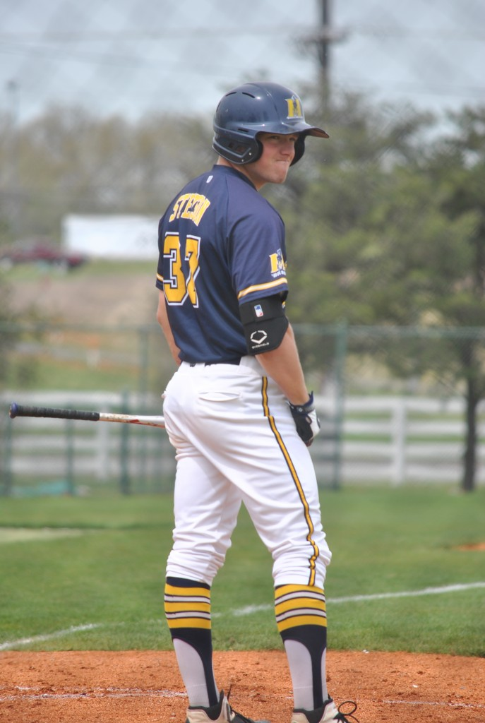 An intense look from Murray State's #37 Ty Stetson