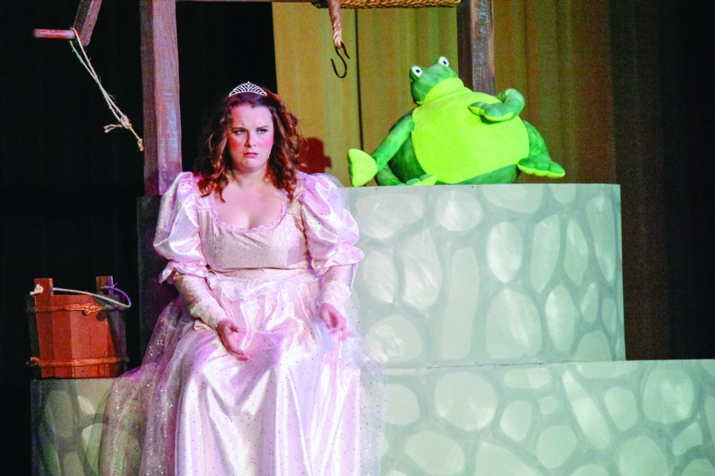 "Taylor McStoots/The News ""The Frog Prince"" is presented by the theater department."