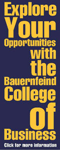 College of Business ad