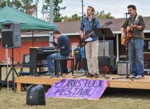 Torrey Perkins // The News The band performs at Clarkstock.