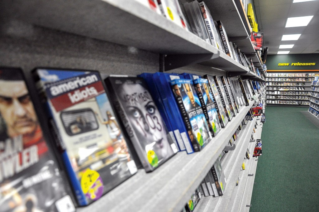 Ana Bundy/The News New releases as well as old favorites are available to rent at Family Video.