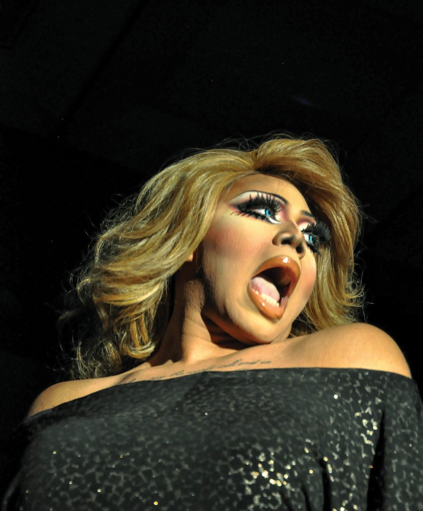 Ana Bundy // The News // Isabella Edwards, of Paducah, is a regular entertainer at the Alliance Drag Show events.