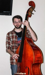 Jenny Rohl // The News /// Matt Boling, junior from Lewisport, Ky., drops the bass with fellow musicians each week.