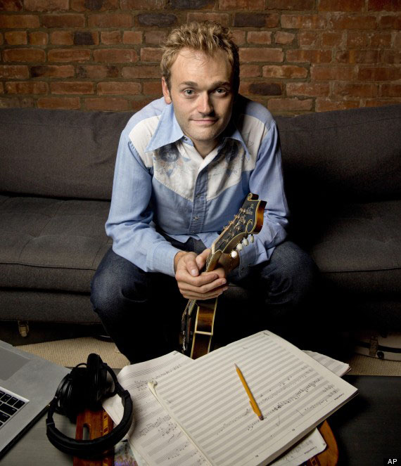 Photo courtesy of Associated Press Chris Thile has been playing the mandolin since he was 5 years old.
