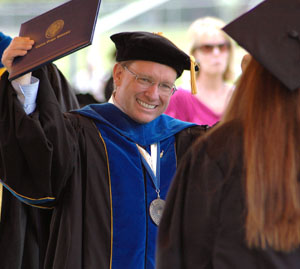 Robert Davies is currently the president of Eastern Oregon University. Photo credit EOU.