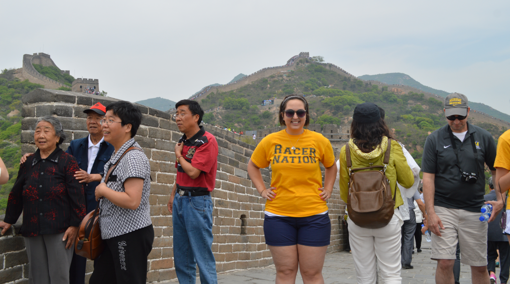 Photo courtesy of the Education Abroad Office Students explore Xi'an, China on a summer study abroad program through the Education Abroad Office.