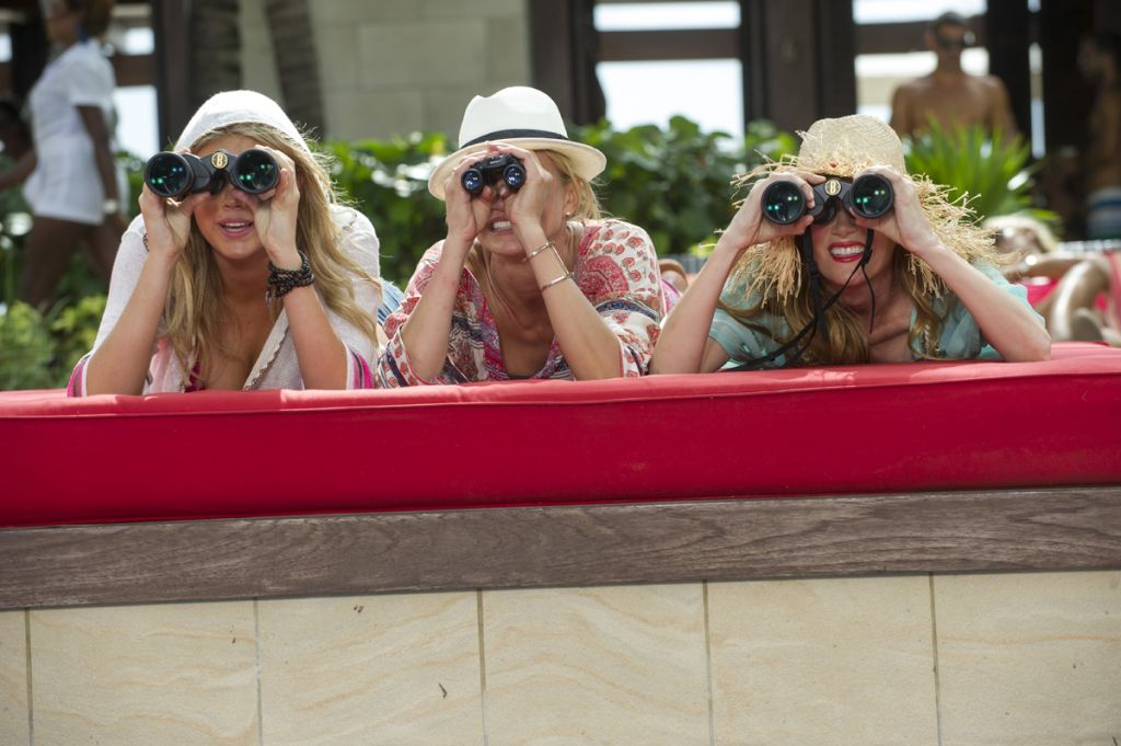 "Photo courtesy of thehollywoodnews.com Stars Kate Upton, Cameron Diaz and Leslie Mann star in a revenge-based chick flick, ""The Other Woman."""