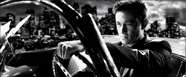 "Photo courtesy of fansided.com Joseph Gordon-Levitt plays Johnny, an arrogant, young gambler in ""Sin City: A Dame to Kill For."""