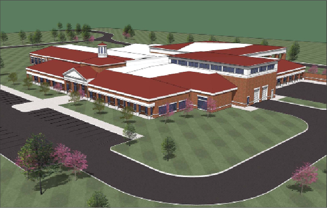Illustration provided by Murray State University The new Breathitt Veterinarian Center in Hopkinsville, Ky., will be completed in 2016, and will be approximately 32,000 square feet.