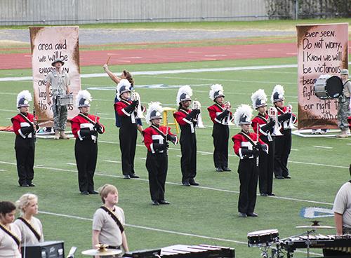 Jenny Rohl/The News High school bands from across Kentucky compete in Festival of Champions Saturday.