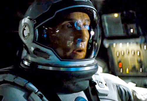 """Photo courtesy of youtube.com Matthew McConaughey stars in """"Interstellar,"""" a futuristic thriller about a man who has to save mankind."""