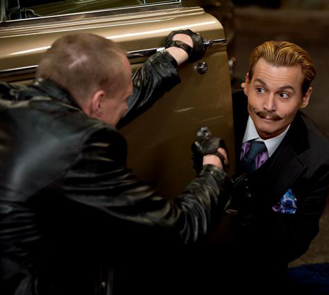 "Photo courtesy of johnnydepp.yuku.com Johnny Depp stars alongside Gwenyth Paltrow in ""Mortdecai."" The film was released in theaters on Jan. 23."