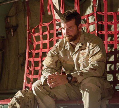"Photo courtesy of variety.com Bradley Cooper stars in ""American Sniper,"" a true story about Chris Kyle, a Navy SEAL sniper for the military. The movie was released in theaters Jan. 16."