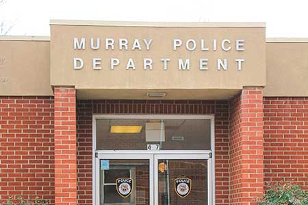 Jenny Rohl/The News The Murray Police Department hosts the Citizens' Police Academy each spring for citizens to learn about the duties of police officers.