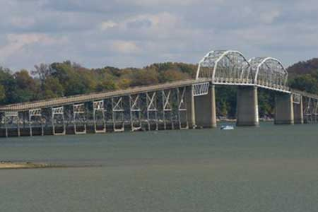 Courtesy of Nathan Holth The 83-year-old Henry Lawrence Memorial Bridge is expected to be completely replaced by 2017.