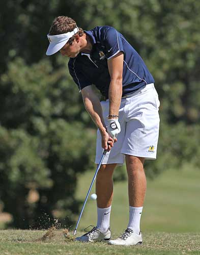 Photo Courtesy of Dave Winder A golf player competes in a tournament last fall.