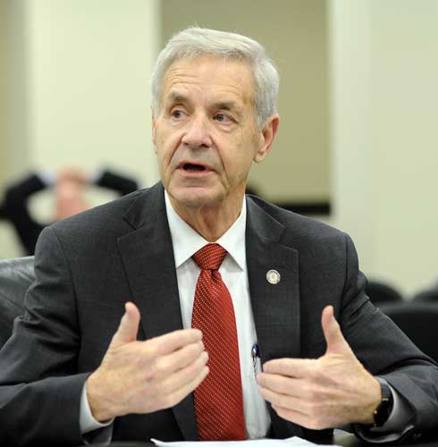 Courtesy of Legislative Research Commission Public Affairs State Rep. Kenny Imes, a Republican from Murray, addresses a legislative committee during the 2015 General Assembly session.