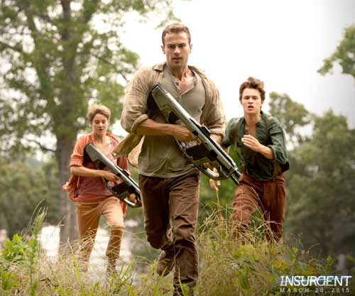 "Photo courtesy of trisandfour.com Shailene Woodley and Theo James return to the big screen in the second installment of the ""Divergent"" series, ""Insurgent."""