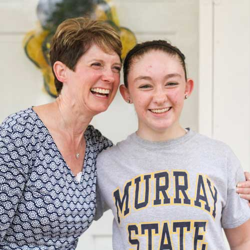 Fumi Nakamura/The News Cindy Davies and daughter, Katie Davies, share their lives as the first women of Murray State and their transition to life in Kentucky.