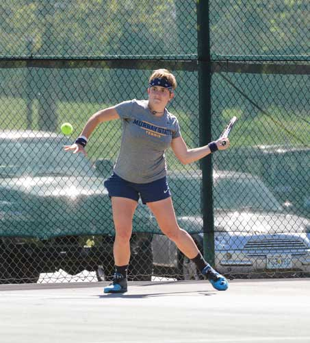 2. The Racer tennis team went 9-1 in OVC play this season and for the second year in a row brought home the OVC regular season trophy as well as the OVC Championship title.