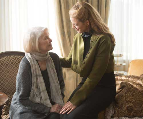 "Photo courtesy of showtimes.com Ellen Burstyn (left) and Blake Lively (right) star in ""The Age of Adaline,"" which was released to theaters on April 24."