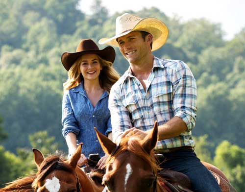 "Photo courtesy of moviefone.com Britt Robertson and Scott Eastwood star in Nicholas Sparks' most recent film, ""The Longest Ride."""