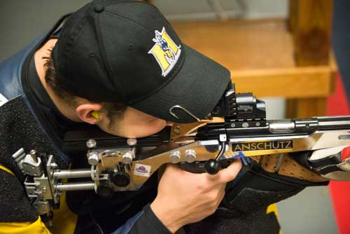 4 The Racer rifle team placed second in the OVC regular season and traveled to Fairbanks, Ala., where they finished seventh in the NCAA Tournament.