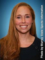 Track and Field Head Coach Jenny Swieton // Photo courtesy of Racer Athletics