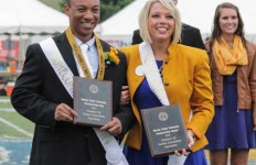 Jenny Rohl/The News Kendrick Settler and Rachel Ross were crowned homecoming king and queen just over a year ago. Now they look to pass on their titles.