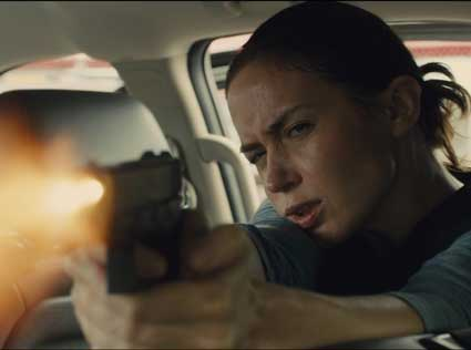 "Photo courtesy of AMC Movie Views Emily Blunt as Agent Macer in Denis Villenueve's ""dark poem"" of an action film."