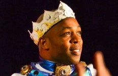 Chalice Keith/The News Todrick Hall came to Murray State this semester, drawing crowds of students to the CFSB Center.