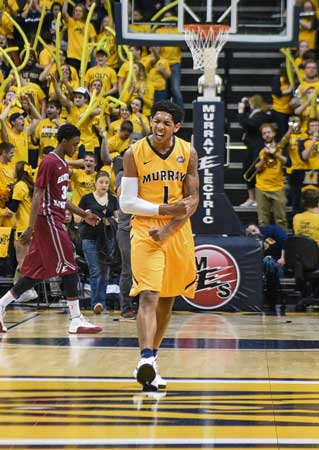 File photo Former Murray State guard Cameron Payne will have his high school jersey retired Dec. 7.