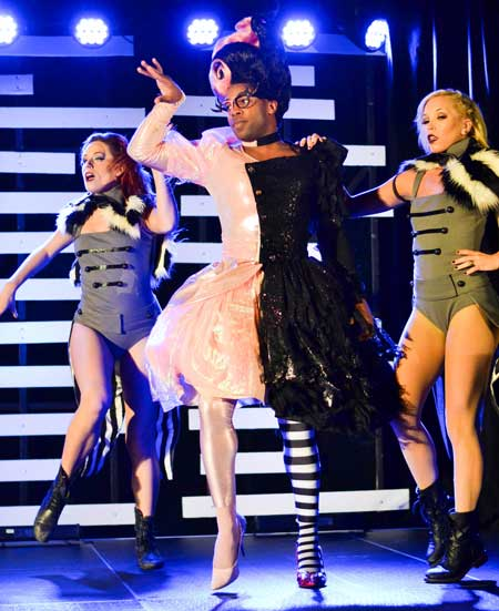 Chalice Keith/The News TODRICK HALL: Choreographer. Dancer. Singer. Actor. Internet sensation. Todrick Hall is a man of many talents, and he showed them off to a crowd in September at the CFSB Center. Hall dazzled the crowd as he stopped by during his tour, but he left attendees with some uplifting words of self-love, too.