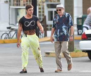 Photo courtesy of screencrush.com Zac Efron and Robert De Niro play grandson and grandfather in highly vulgar film.