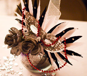 Emily Harris/The News The Murray Woman's Club hosted the Masquerade Charity Ball in honor of the Murray communities public services and protectors.