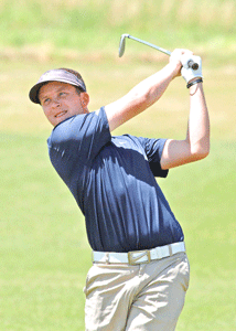 Contributed by David WInder – Murray State Athletics Jared Gosser, senior from Russell Springs Kentucky, finished 27th in the OVC Tournament.